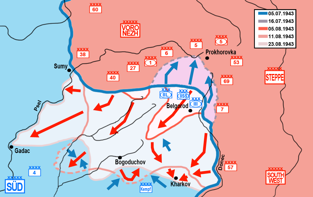 Battle of Kursk - Southern Sector