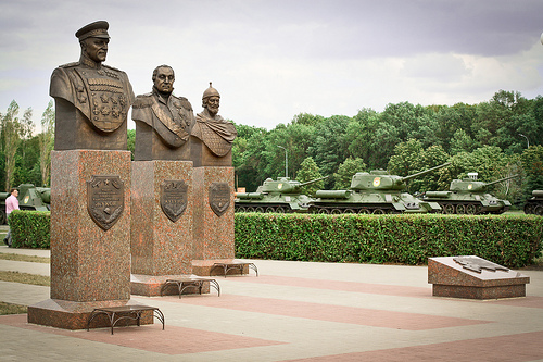 Battle of Kursk Monument Zhukov-Kutuzov-Donskoy