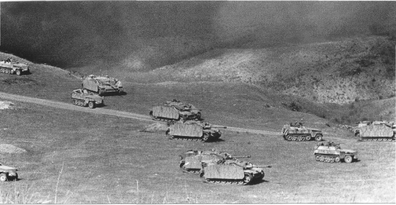 Battle of Kursk tanks